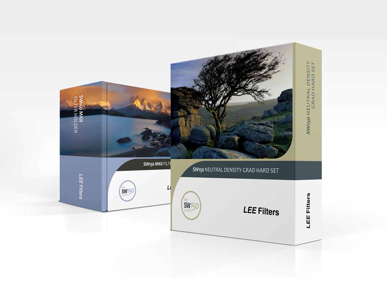 Packaging design for Lee Filters by Steve Davies graphic designer